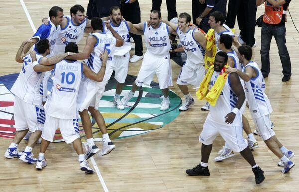 Сборная Греции по баскетболу