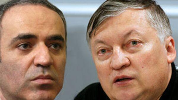 Матч между Карповым и Каспаровым начался в Валенсии
