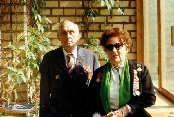 Михаил Исаакович Мукасей и Елизавета Ивановна Мукасей