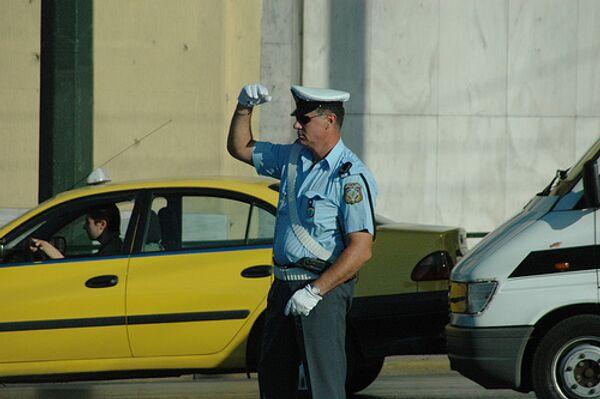 Греческая полиция. Архив