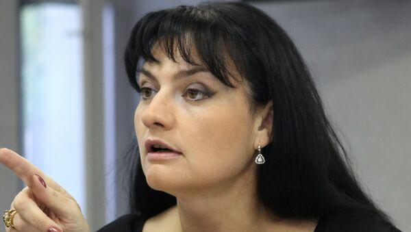 Елена Масюк . Архивное фото