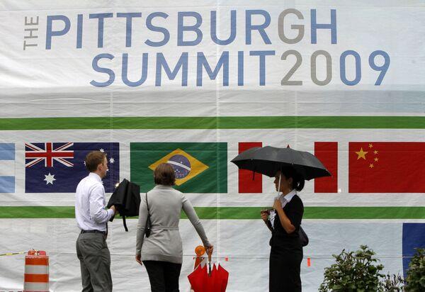 Медведев прибыл в Питтсбург для участия в саммите G20