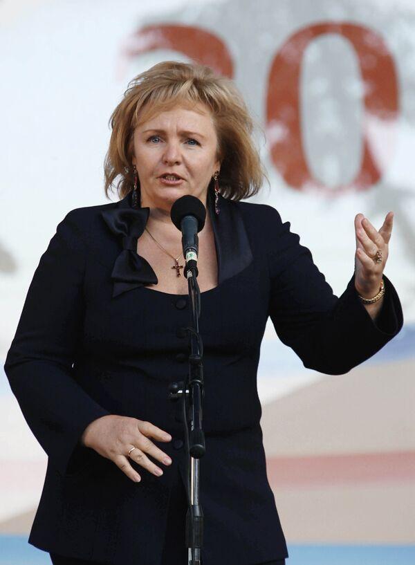 Л.Путина открыла фестиваль БиблиОбраз - 2009 в Калининграде. Архив