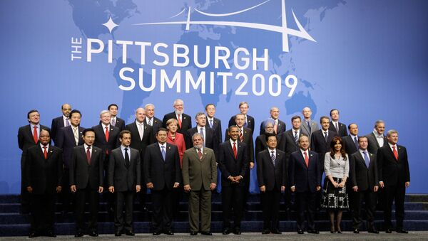 Фотографирование глав государств и правительств Группы двадцати