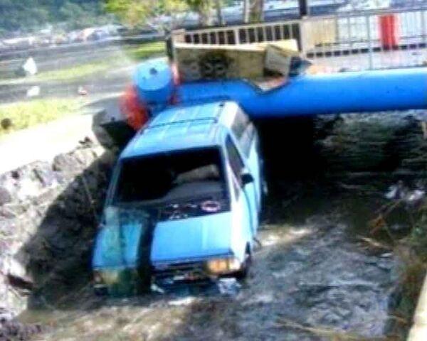 Из-за мощного цунами острова Самоа уходят под воду