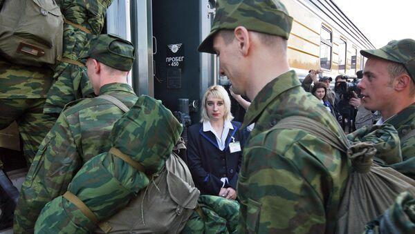 1 октября 2009 года в России началась очередная призывная кампания