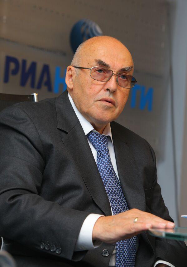 Руководитель Департамент здравоохранения г. Москвы А. Сельцовский