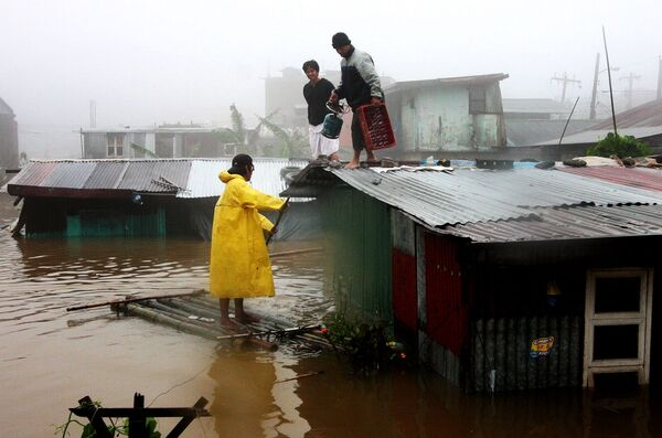 Тайфун Парма на Филиппинах