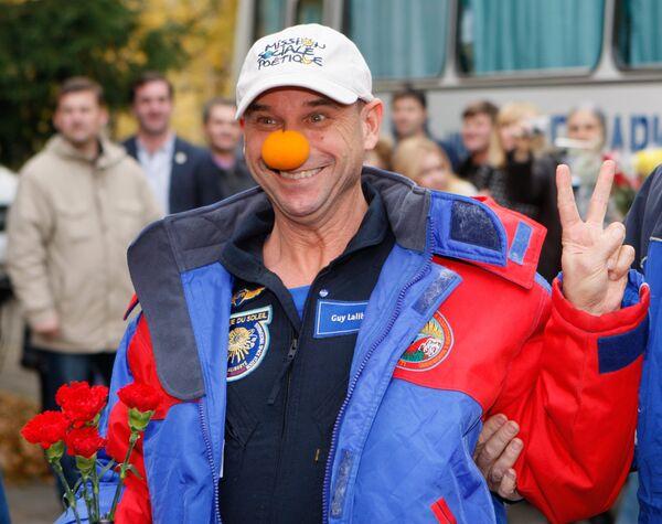 Космический турист, основатель канадского Cirque du Soleil Ги Лалиберте