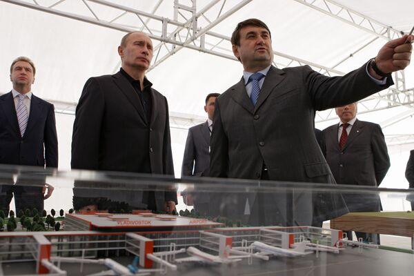 Рабочая поездка премьер-министра РФ Владимира Путина во Владивосток