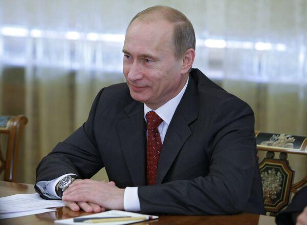 Путин отмечает резкое сокращение роста цен в России