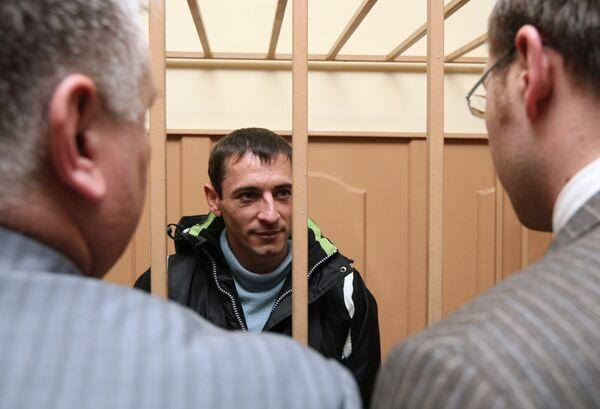 Заместитель главы МВД Бурятии Андрей Шурупов в Басманном суде Москвы