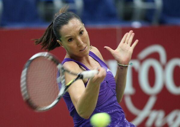 Сербская теннисистка Елена Янкович. Архив
