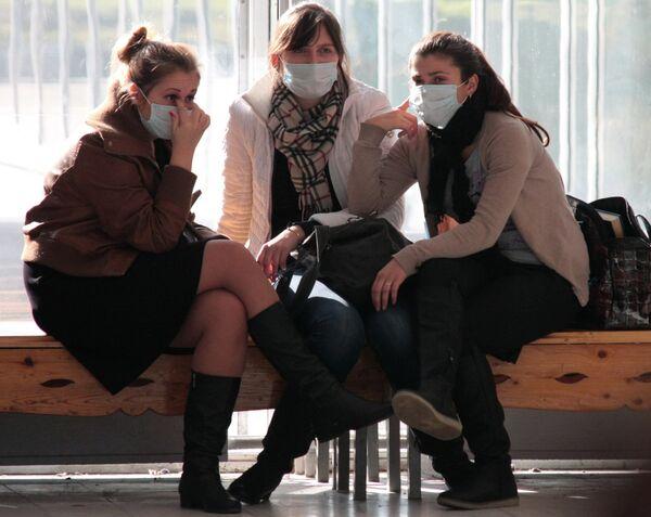 Более 40 человек заболели за сутки гриппом А/H1N1 в Красноярске