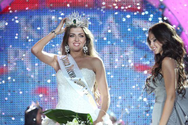 Евгения Лапова - победительница XV конкурса Краса России-2009
