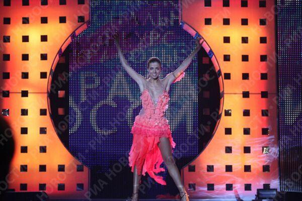 Евгения Лапова. Финал XV конкурса Краса России-2009