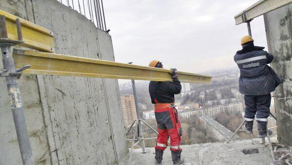 Целый этаж будущего жилого дома будет построен за 48 часов на Бескудниковском бульваре в Москве