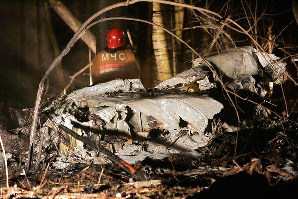 Белорусская прокуратура приостановила расследование крушения самолета кампании С-Эйр