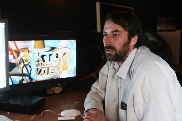 Директор чеченской студии анимационных фильмов Руслан Исмаилов