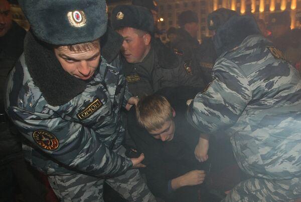 Марш несогласных прошел в Москве