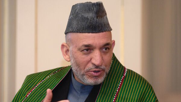 Президент Афганистана Хамид Карзай. Архив
