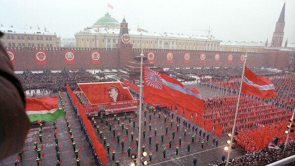 Празднование 7 ноября в СССР. Архивное фото
