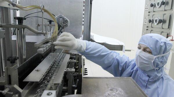 Производство вакцин на предприятии Микроген