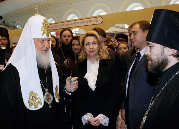 России не грозит кризис духовности, считает Светлана Медведева