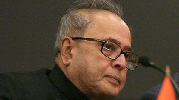 Пранаб Мукерджи. Архив