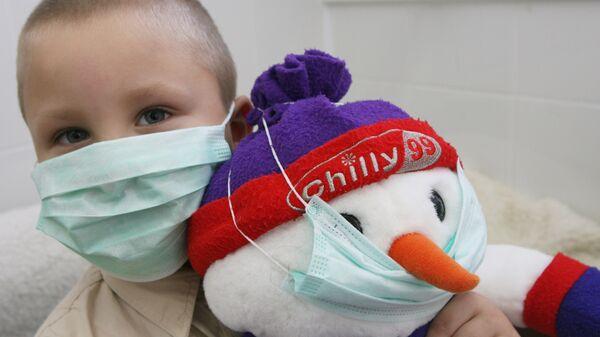 Занятие по профилактике гриппа в детском саду Теремок в Светлогорске