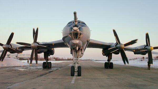 Противолодочный самолет Ту-142. Архив