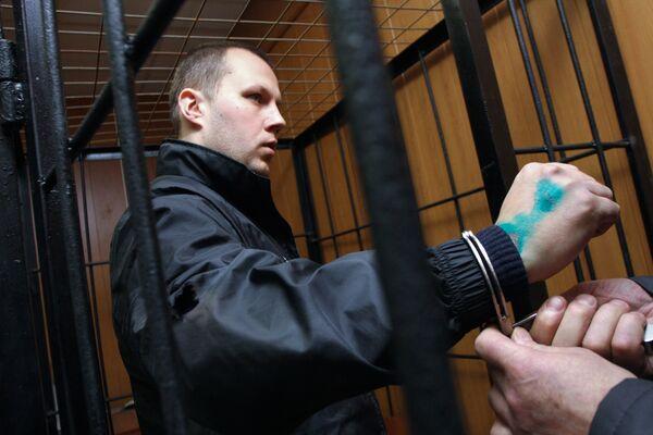 Рассмотрение ходатайства об аресте Николая Захаркина