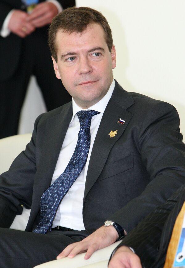 Президент РФ Д.Медведев на XVII саммите АТЭС в Сингапуре