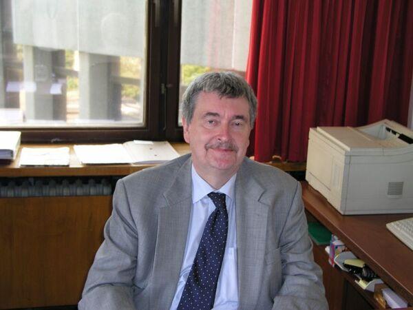 Глава московского представительства Германской службы академических обменов (DAAD) Грегор Бергхорн