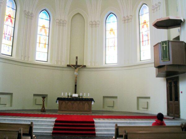 Кафедральный собор Петра и Павла Евангелическо-Лютеранской церкви в Москве. Архивное фото