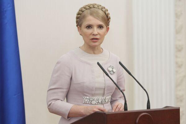 Тимошенко вновь обещает стабильный транзит российского газа