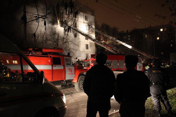 Взрыв бытового газа на юго-востоке Москвы