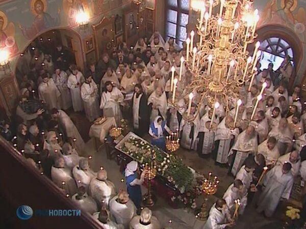 LIVE: Отпевание Даниила Сысоева в храме апостолов Петра и Павла