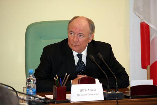 Губернатор Вологодской области Вячеслав Позгалев