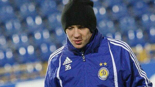 Полузащитник киевского Динамо Денис Гармаш