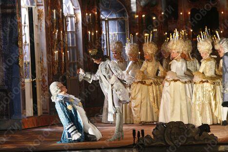 Сцена из оперы Давида Тухманова Царица