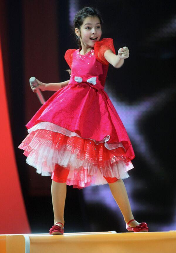 Россиянка Катя Рябова заняла второе место в детском Евровидении-2009