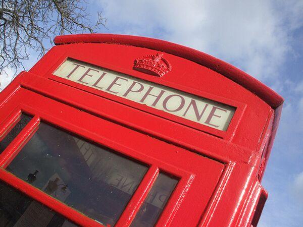 Английска телефонная будка