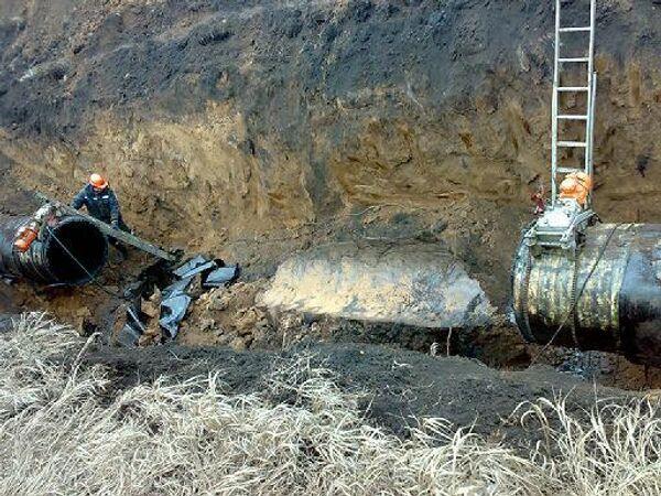 Нефтеразлив в Липецкой области