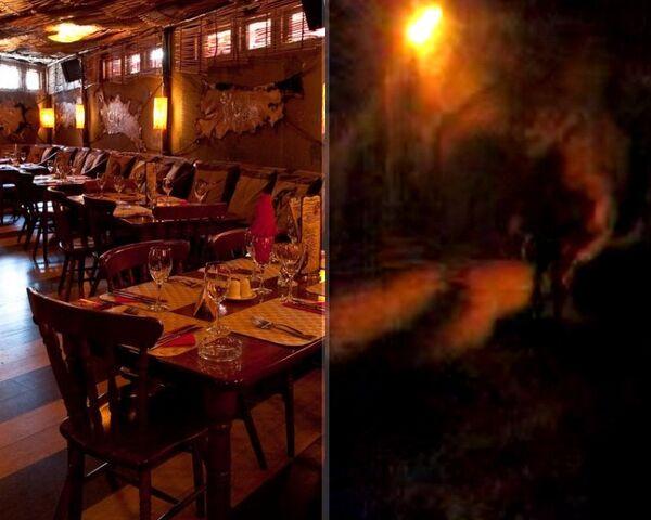 Пермское кафе Хромая лошадь до и после взрыва
