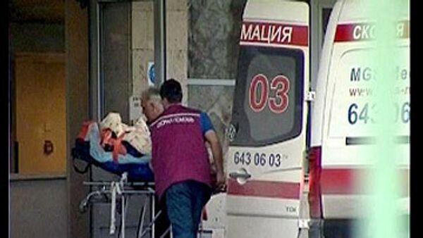 Госпитализация пострадавших в крушении Невского экспресса