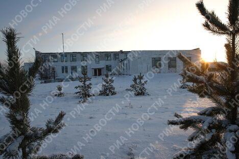 Школа в деревне Стародубка