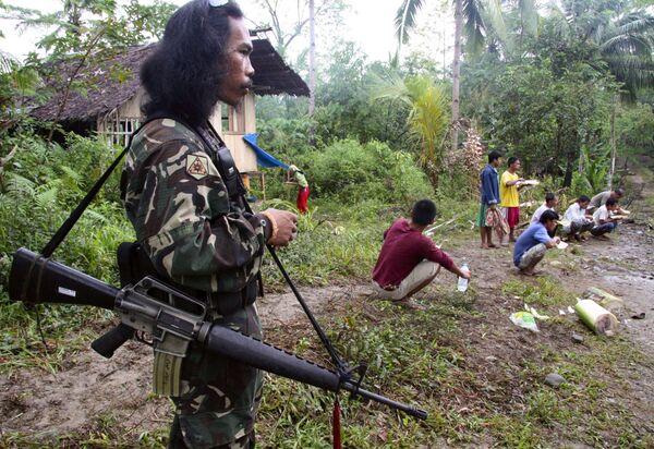 Филиппинские бандиты, захватившие заложников