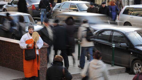 Единственный буддийский монах в Москве