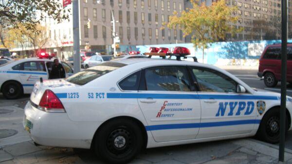 Автомобили полицейского управления Нью-Йорка. Архивное фото